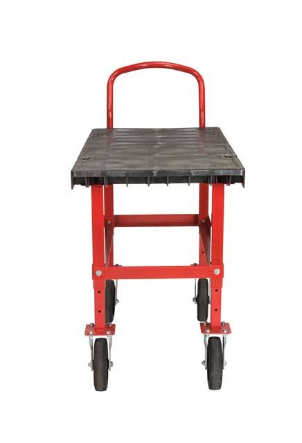 """Handling Adjustable Truck from 29"""" to 35"""": Work-Height platform truck from 29"""" to 35"""""""