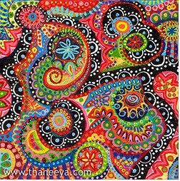 COLORful patternAbstract Design, Abstract Colors, Abstract Art, Colors Pattern, Art Journals, Happy Colors, Artthaneeya Mcardle, Art Kids, Art Projects