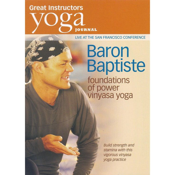 Yoga journal:Baron baptiste foundatio (Dvd)