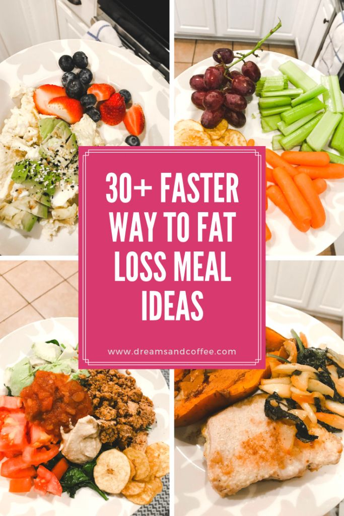 My Favorite Faster Way to Fat Loss Snack + Meal Ideas