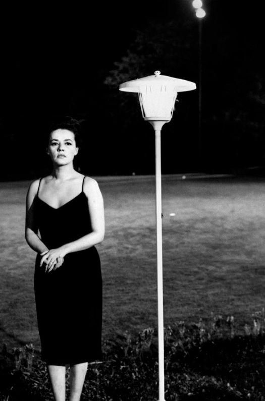 Jeanne Moreau in La notte directed by Michelangelo Antonioni, 1961.