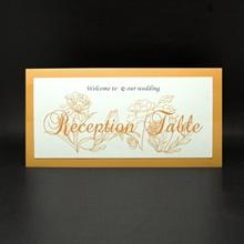 Catherine reception table card