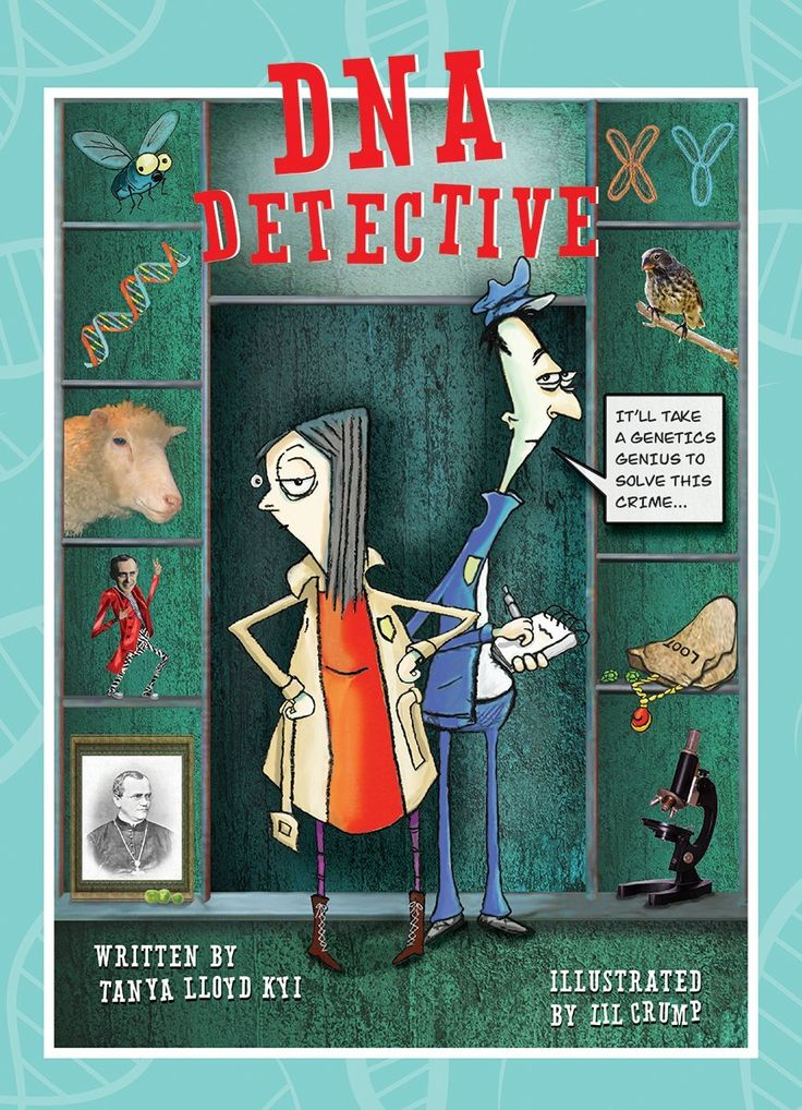 DNA Detective Exceptional Nonfiction Books for Kids