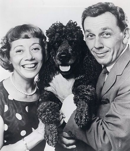 Imogene Coca and her husband, King Donovan.