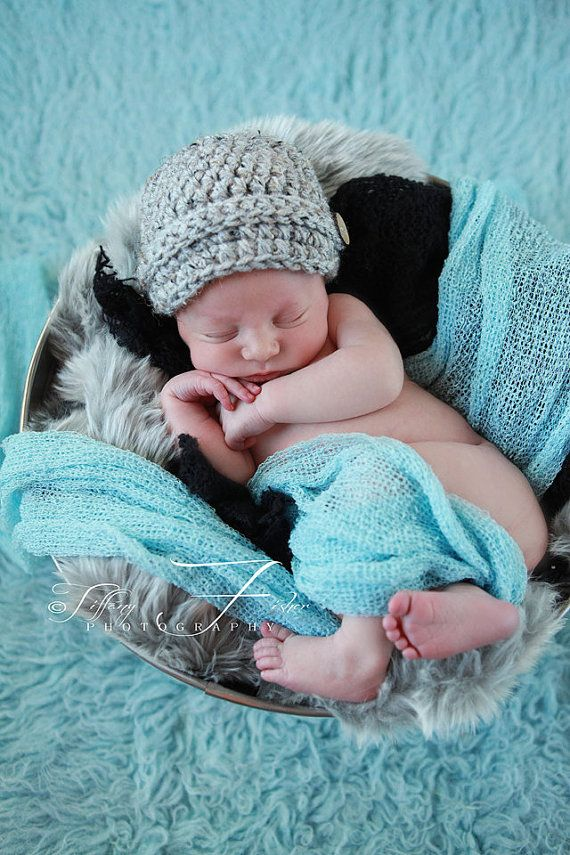 RTS Newborn Baby Boy Newsboy Photography Prop by AllBabyBoutique