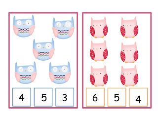 Preschool Printables: Owl