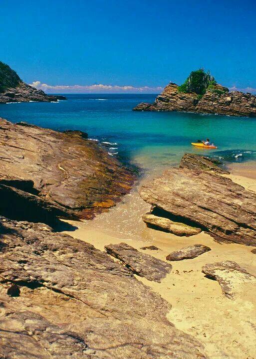 Praia de Ferradurinha, Búzios, RJ.