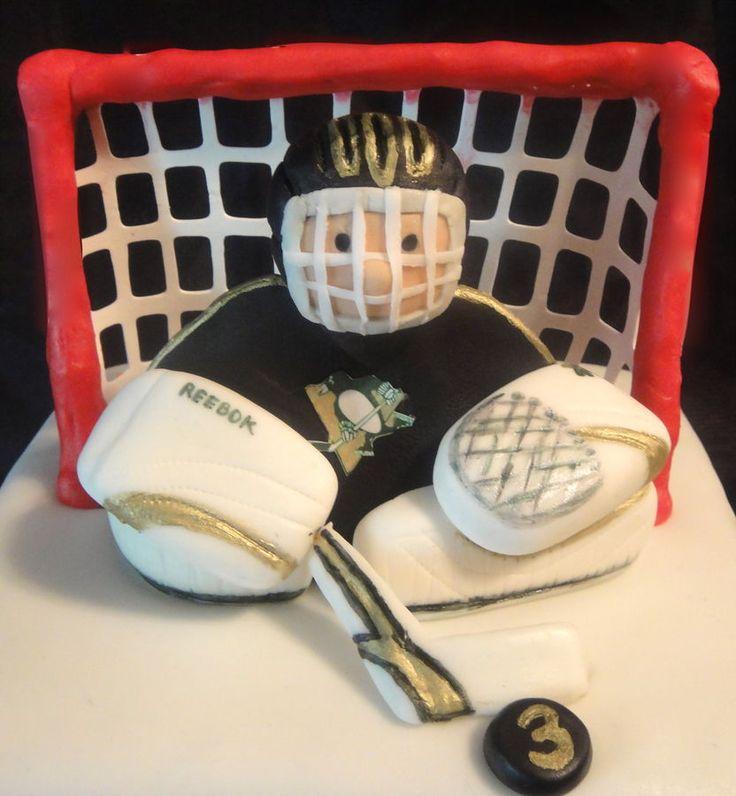 Ice Hockey Cake Figures