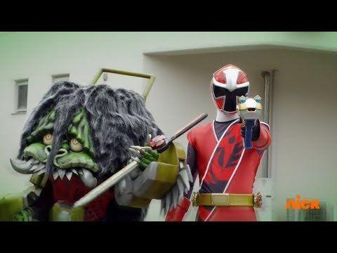 """Power Rangers Super Ninja Steel - Power Rangers vs Red Ranger & Game Goblin   Episode 5 """"Game Plan"""" - YouTube"""
