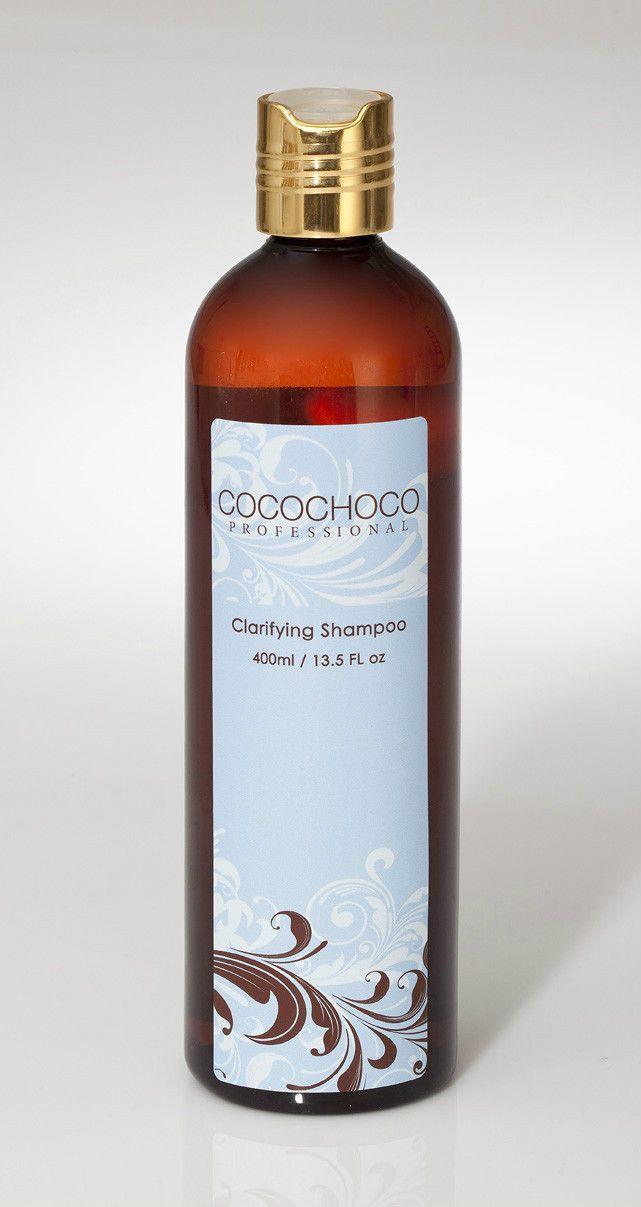 Cocochoco Clarifying Shampoo 400Ml - 6 Bottles Sls Free, Sulphate Free