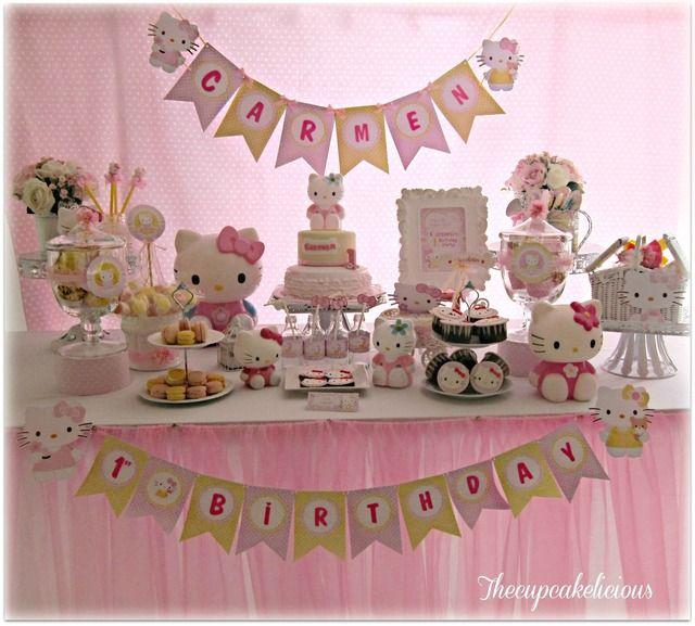 Adorable Hello Kitty Party #hellokitty #party