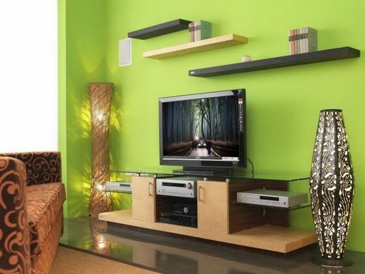 Green Living Room Design Ideas Decorations And Furniture 9