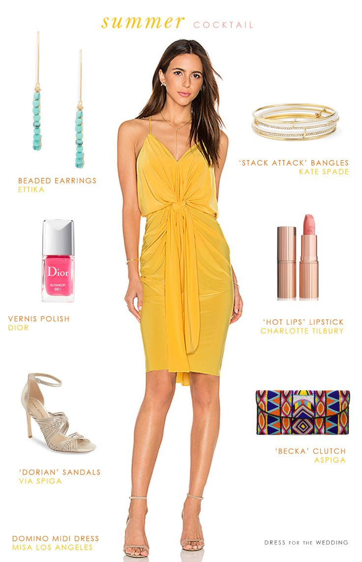 20+ Summer Cocktail Dresses for Weddings - Best Shapewear for Wedding Dress Check more at http://svesty.com/summer-cocktail-dresses-for-weddings/