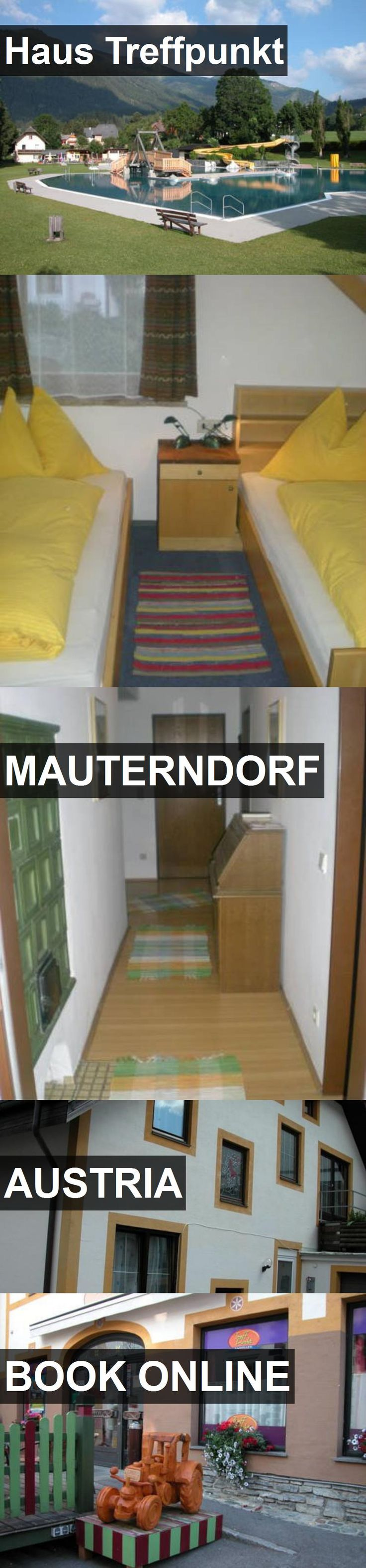 Hotel Haus Treffpunkt in Mauterndorf, Austria. For more information, photos, reviews and best prices please follow the link. #Austria #Mauterndorf #travel #vacation #hotel