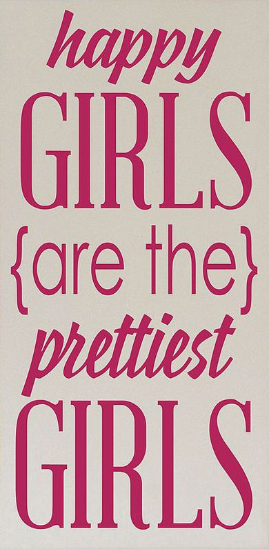 Cream & Pink 'Prettiest Girls' Wall Sign