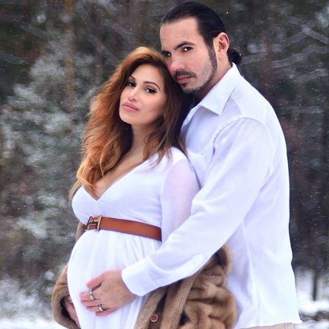 Former WWE Superstar Matt Hardy and his wife Rebecca Reyes-Hardy (Indy wrestler Reby Sky) are expecting their first child, a son, later this year.