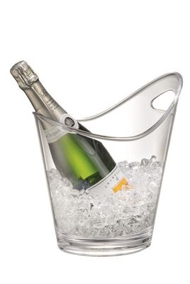 We love the Serroni range as a gift for Mum this Mother's day. Get the best of both worlds, with stylish glass-looking dining pieces, but the practicality of unbreakable acrylicware. These Serroni champagne and wine bucket does just that, with sleek design, it is made from a BPA-free high quality polycarbonate that is virtually unbreakable. It is lightweight and elegant – perfect for camping, picnics, BBQ's, parties and outdoor dining.