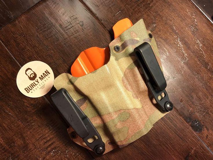 Multicam Hunter Orange Kydex SideCar Holster Glock 19 G17 G22 G26 IWB Appendix   eBay