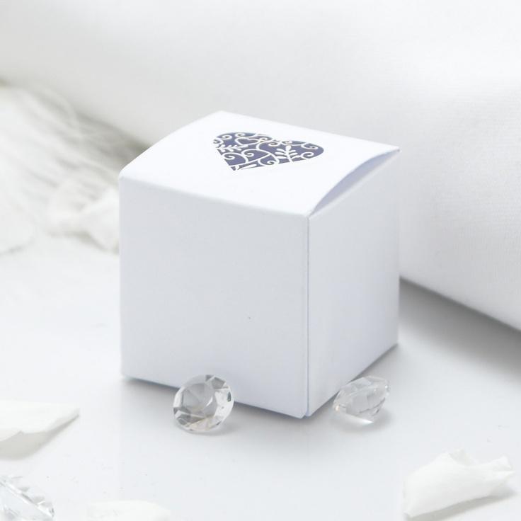 Grace Wedding Favour Boxes - 10 Pack