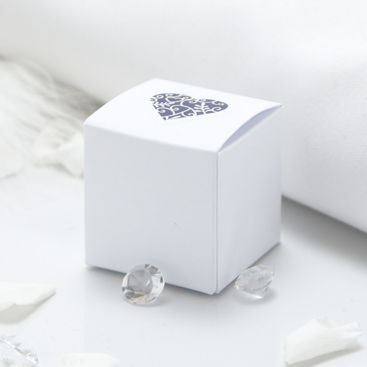 Grace Wedding Favour Boxes - 10 Pack