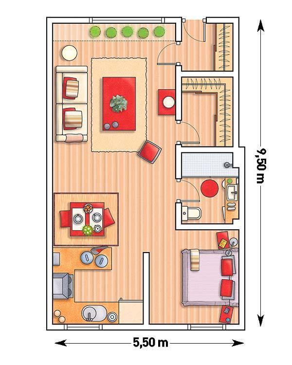214 besten floor plan bilder auf pinterest grundrisse for Innendekoration studium