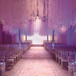 15 gorgeous lighting ideas for your wedding! (Photo shot by John Lebbe at a Preston Bailey event)