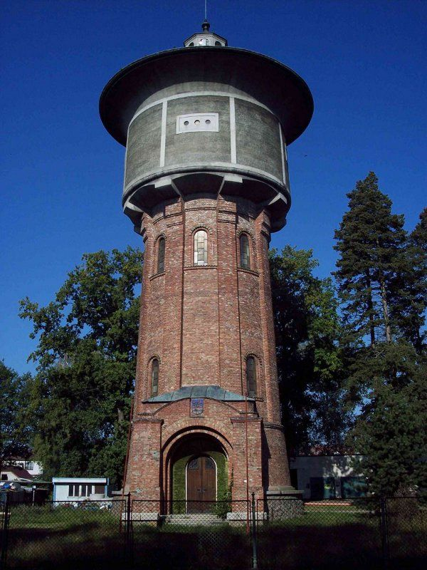 #Třeboň (Czech republic), Water tower