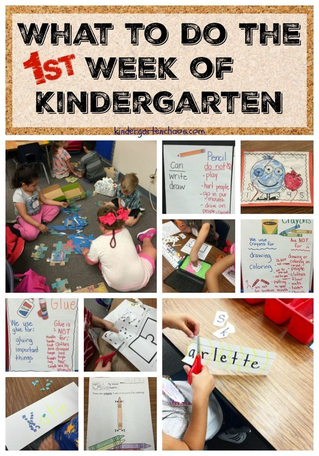 Today is day 3 of 31 Days of Kindergarten and is all about the First Week of Kindergarten. I think we can all agree that each year in kindergarten is unique and for the most part, we as teachers do n