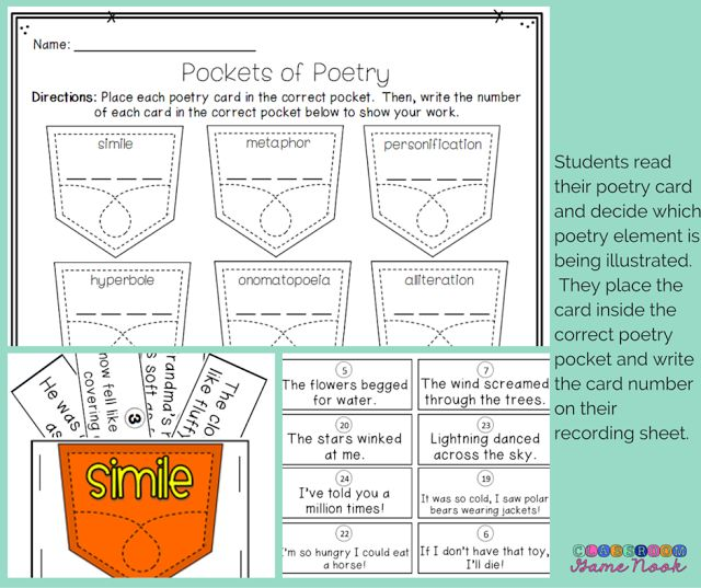 The Classroom Game Nook: Have you tried THESE poetry games yet?