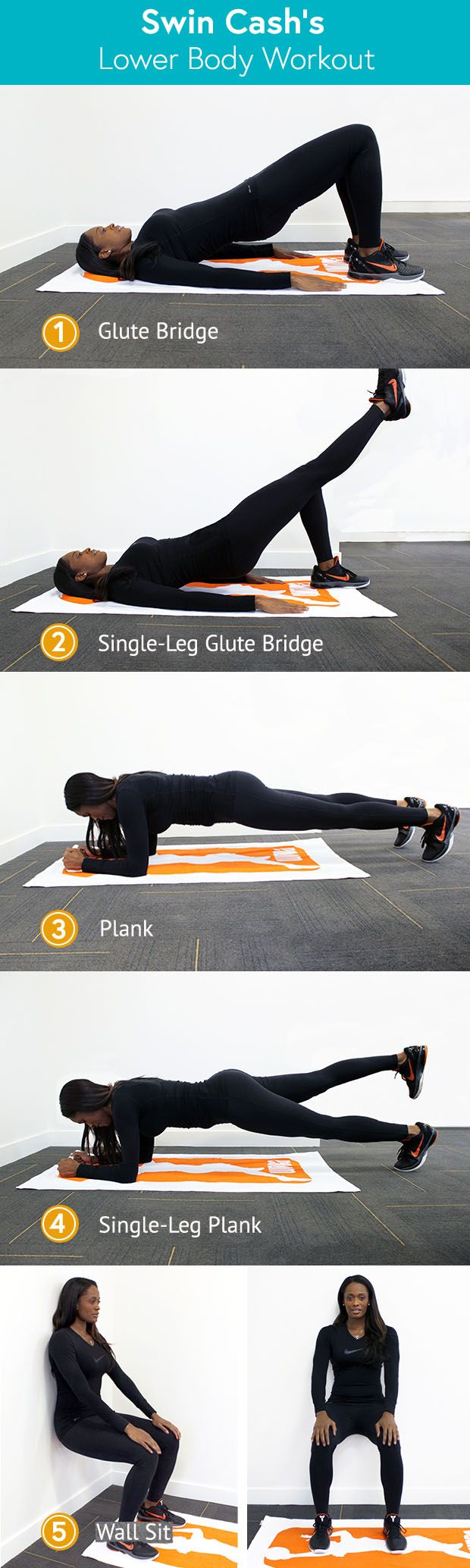 WNBA Swin Cash's favorite lower-body workout
