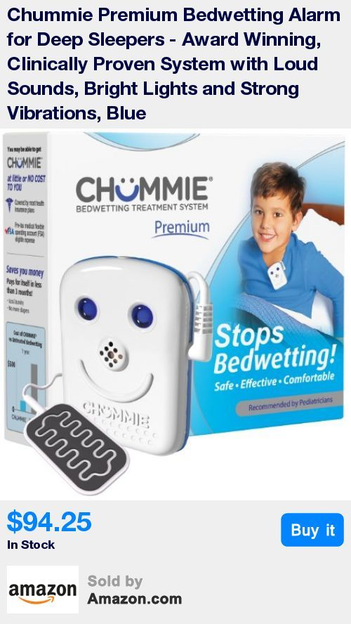 PATENTED ALERT TECHNOLOGY - Designed for deep sleepers; Unlike single tone alarms that may cause your child to get used to one tone, Chummie provides 8 different selectable tones, volume control, vibration settings and 2 bright lights to wake up deep sleepers * ONE DROP DETECTION SENSOR - Only Chummie alarms are powered with a soft, non-corrosive silicone sensor whose urine detection area is significantly larger than traditional clip sensors found in other bedwetting alarms; so you never mis