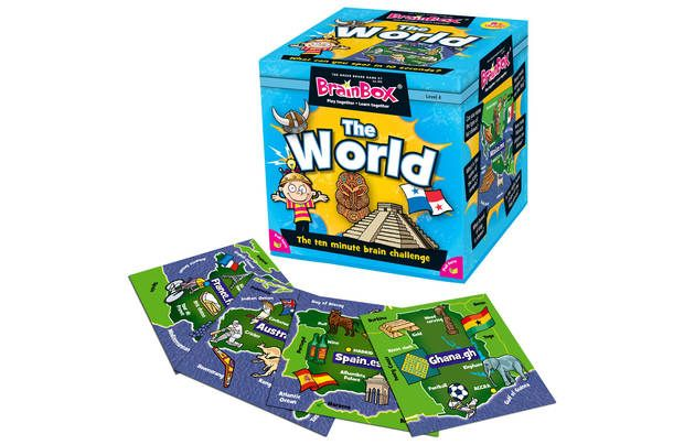 Brainbox World Quiz Game: Do you know where Machu Pichu is? Or what bird New Zealanders are named after? The… #UKShopping #OnlineShopping