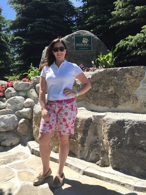 Celebrating this Life: Golf Spectator Fashion or What to wear to a golf tournament #Manulifeclassic #LPGA #tommyhilfiger #whistlebear #golfclub