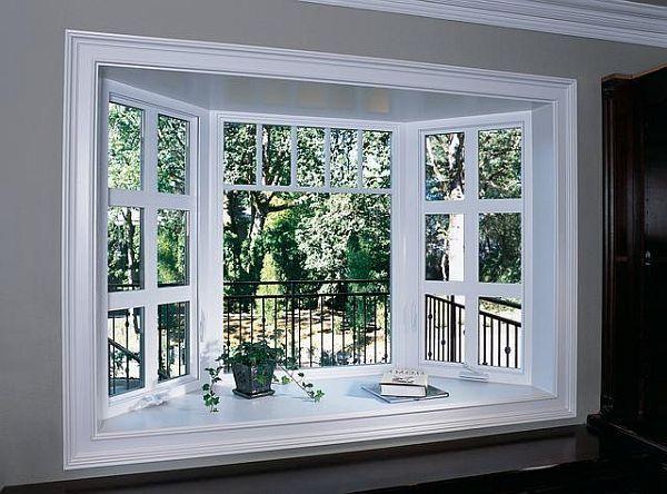 Best 25 bow windows ideas on pinterest bow window for Decoration fenetre bow window
