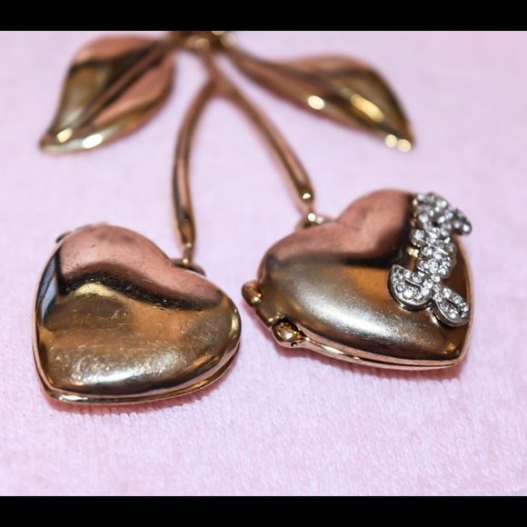 Juicy Couture Jewelry - SUPER RARE Juicy Couture Locket Necklace