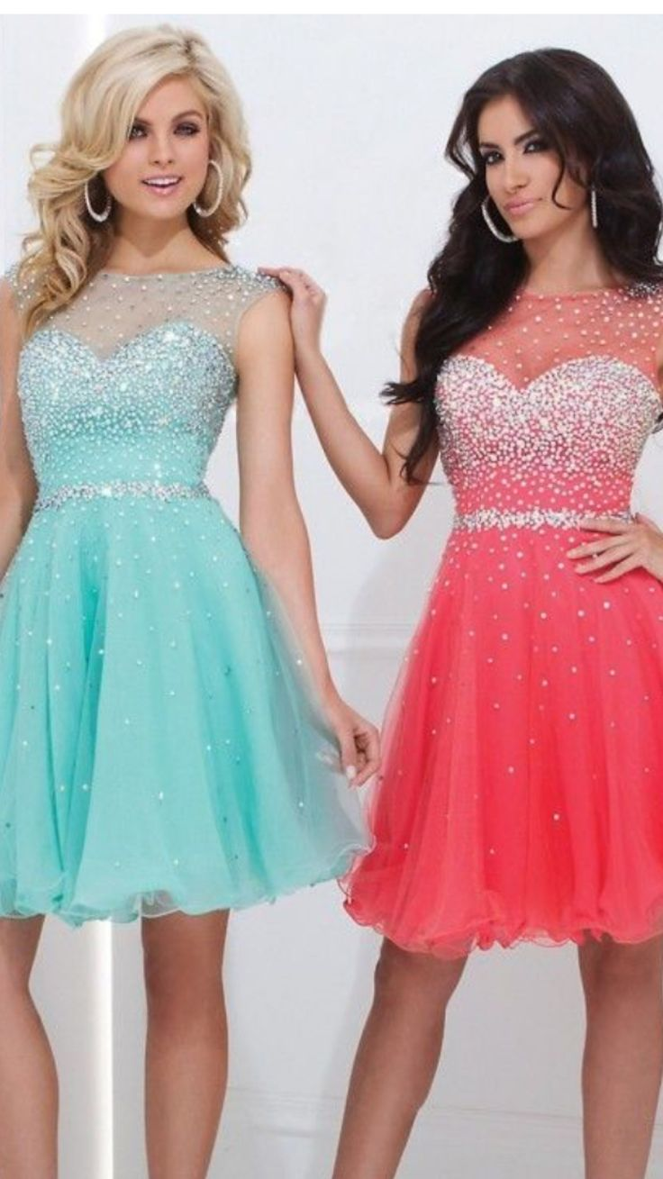 Cheap Two Pieces Short Homecoming Dresses 2016 Beaded Top