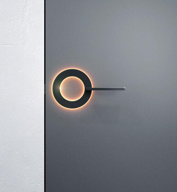 futuristic door handle