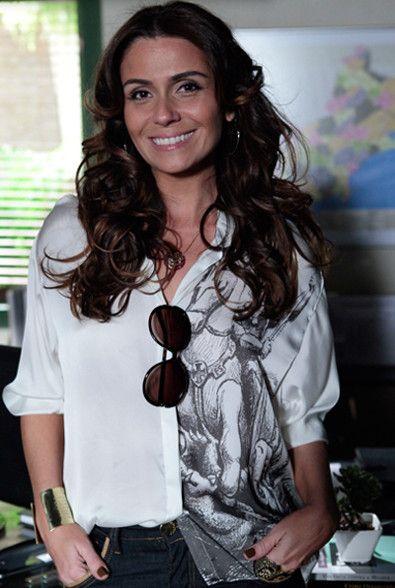 Looks da delegada Heloísa(Giovanna Antonelli) de Salve Jorge   Confira o estilo…