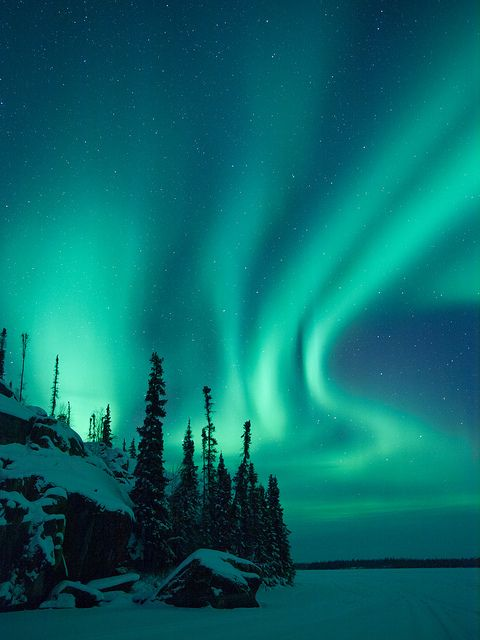 Aurora Borealis - Saw this once with Amy up in Plattsburgh.  One of the most amazing things to witness ever.