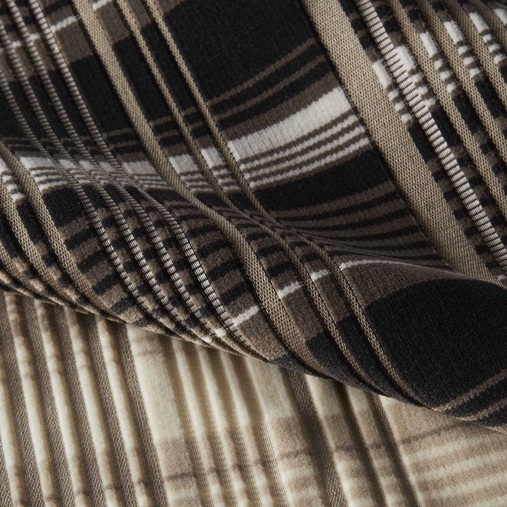 Infinity Plaid Upholstery by Carnegie Fabrics   Neutrals ...