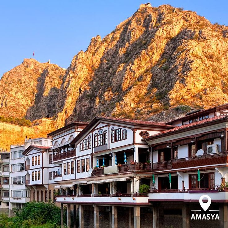 Ancient and beautiful… Amasya is just another hidden beauty of Anatolia where you can enjoy beautiful views over the river, old houses and Kings' Tombs carved into the mountain.