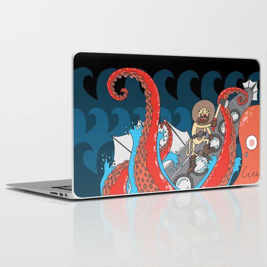 20.000 leagues under the sea Laptop & iPad Skin