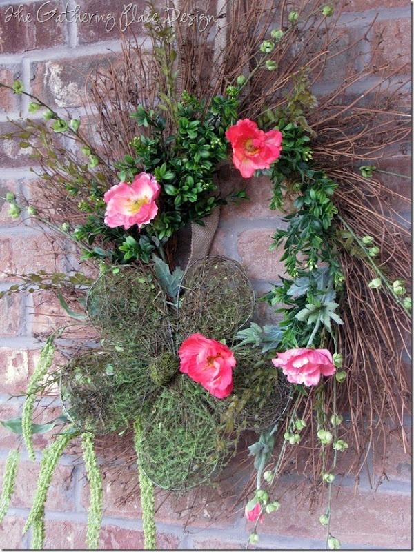 Whimsical Spring Wreath-DIY