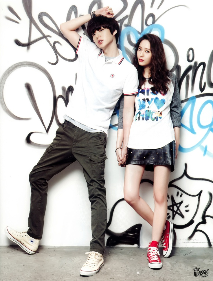 Krystal and Ahn Jae-hyun // Vogue Girl Korea
