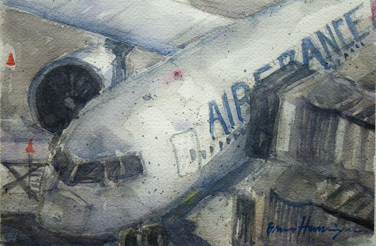 International Airport - Rio de Janeiro - Brazil - airplane   767 - 300