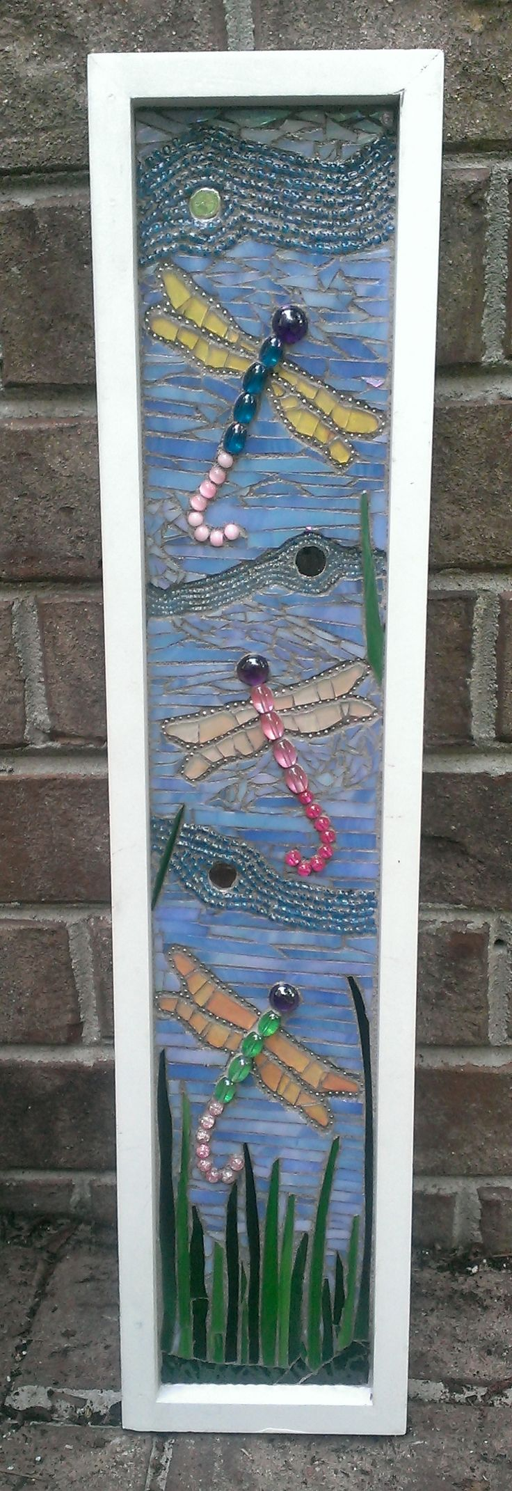 Dragonflies mosaic