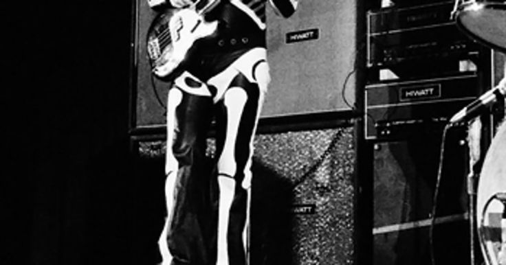Entwistle wore a skeleton suit at many gigs during their famous 1970 tour. They played their legendary gig at Leeds University that year and headlined the Isle of Wight Festival. The band tours to this day, but many fans see this period as their peak.