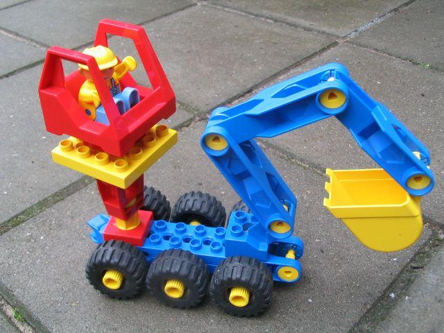auto van lego toolo - soort technisch duplo