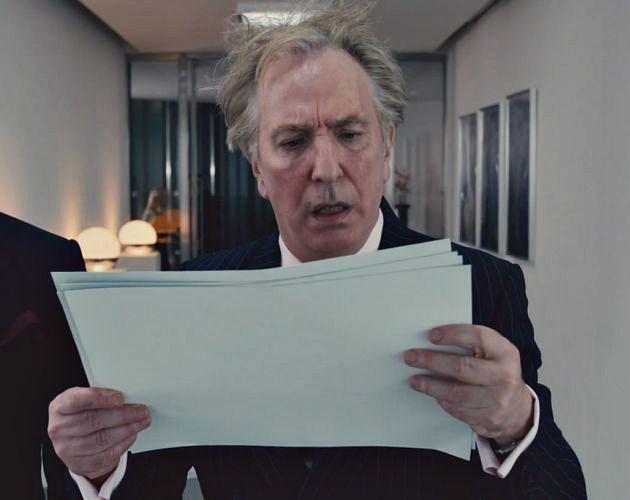 Alan Rickman as Lionel Shahbandar, 'Gambit', 2012