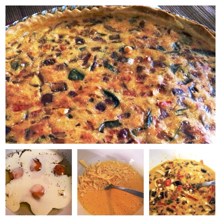 Quiche de verduras   23 Mayo 2015